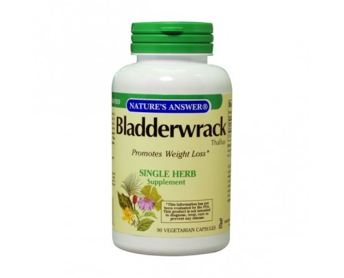 Nature's Answer Bladderwrack Thallus Extract 250 mg 90 Vegetarian Capsules