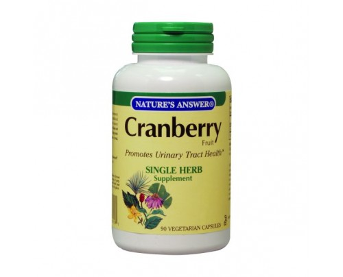 Nature's Answer Cranberry Fruit 400mg 90 Vegetarian Capsules