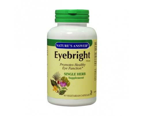 Nature's Answer Eyebright Herb 90 Capsules