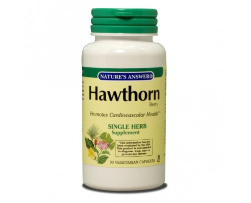 Nature's Answer Hawthorn Berry 500mg 90 Capsules