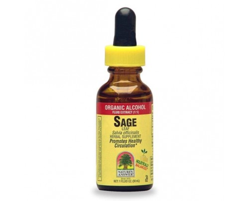 Nature's Answer Sage Organic Extract 1oz.