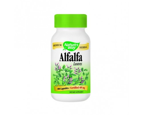 Nature's Way Alfalfa Leaves 406mg 100 Capsules