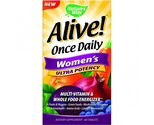 Nature's Way Alive! Once Daily Women's Ultra 60 Tablets