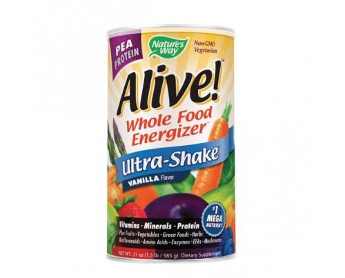 Nature's Way Alive!  Pea Protein Shake Powder Vanilla 1.3 lb