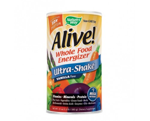 Nature's Way Alive! Ultra Shake Powder Vanilla 1.3 lb