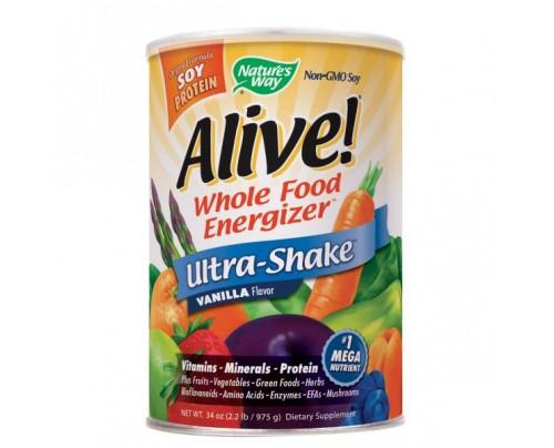 Nature's Way Alive! Ultra Shake Powder Vanilla 2.2 lb