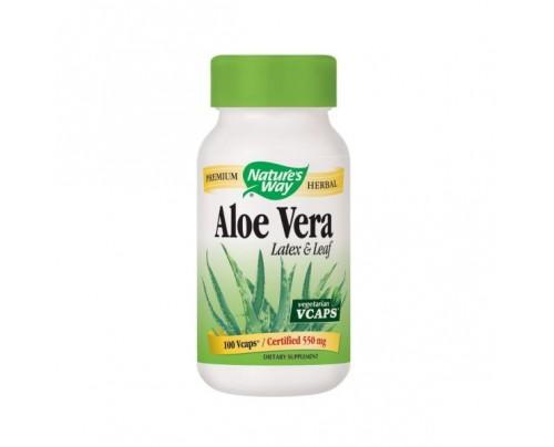 Nature's Way Aloe Vera Leaves 250mg 100 Vegetarian Capsules
