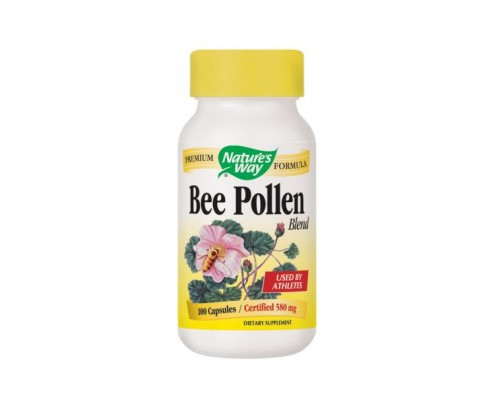 Nature's Way Bee Pollen Blend 580mg 100 Capsules