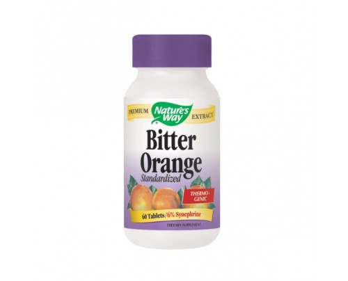 Nature's Way Bitter Orange Standardized Extract 450mg 60 Tablets