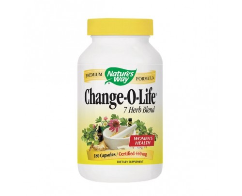Nature's Way Change-O-Life 7 Herb Blend 430mg 180 Capsules