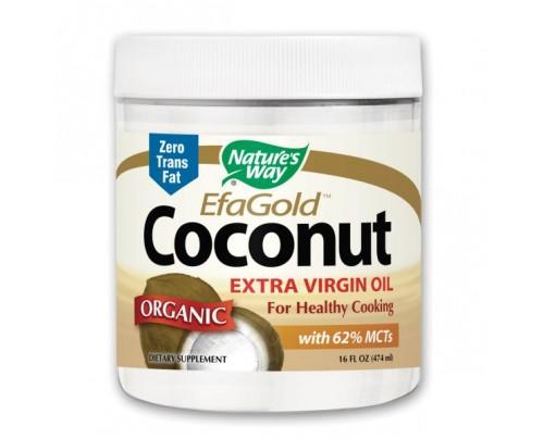 Nature's Way EfaGold Organic Extra Virgin Coconut Oil 16 fl. oz.