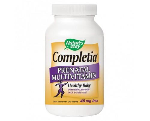 Nature's Way Completia Prenatal Multivitamin 240 Tablets