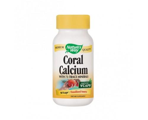 Nature's Way Coral Calcium 200mg 90 Vegetarian Capsules