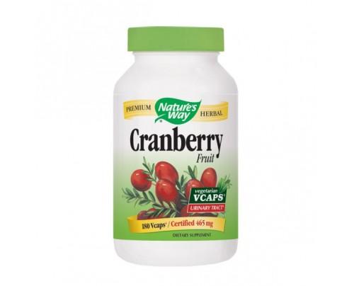 Nature's Way Cranberry Fruit 465mg 180 Vegetarian Capsules