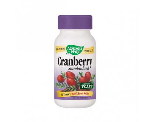 Nature's Way Cranberry Standardized Extract 400mg 60 Vegetarian Capsules