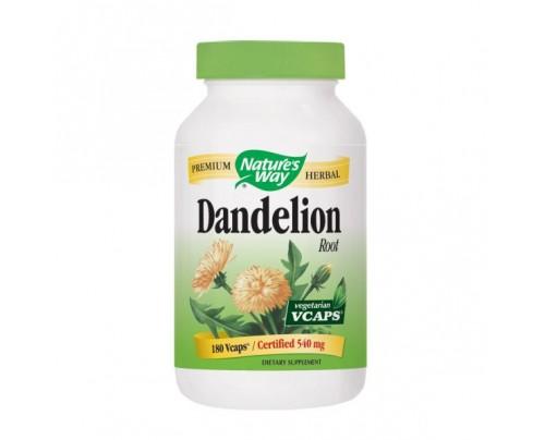 Nature's Way Dandelion Root 523mg 180 Vegetarian Capsules