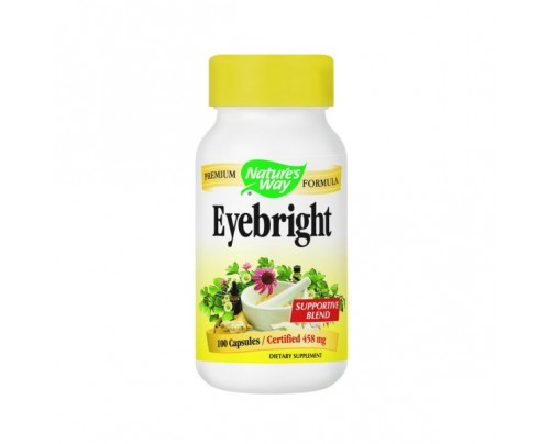 Nature's Way Eyebright Herbal Blend 458mg 100 Capsules