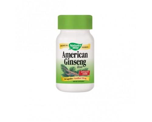 Nature's Way American Ginseng 560mg 50 Capsules
