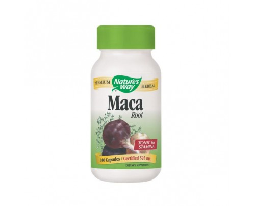 Nature's Way Maca Root 525mg 100 Capsules