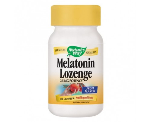 Nature's Way Melatonin Sublingual 2.5 mg 100 Lozenges