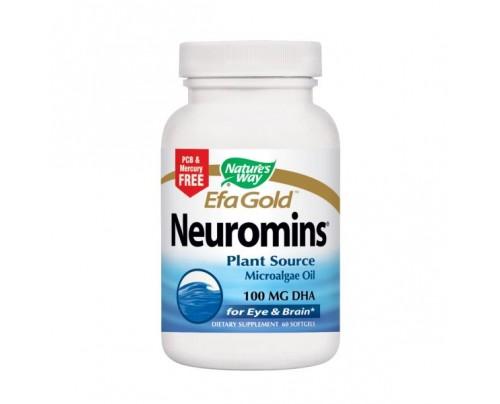 Nature's Way EfaGold Neuromins Vegetarian DHA 100mg 60 Capsules