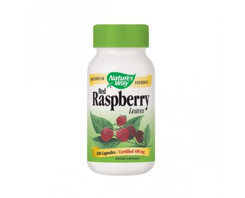 Nature's Way Red Raspberry 400mg 100 Capsules