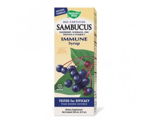 Nature's Way Sambucus Immune Syrup 100mg 7.8oz.