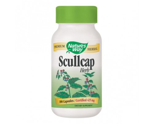 Nature's Way Scullcap Herb (stem, leaf, fruit) 425mg 100 Capsules