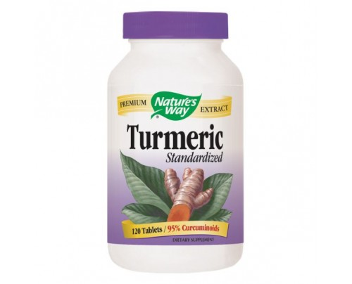 Nature's Way Turmeric Standardized Extract 950mg 120 Tablets