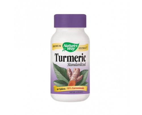 Nature's Way Turmeric Standardized Extract 950mg 60 Tablets