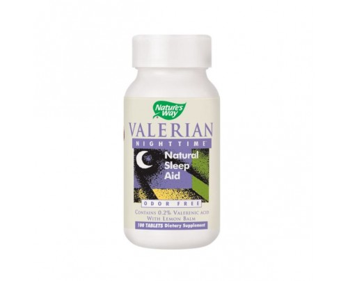Nature's Way Valerian Nighttime 240mg 100 Tablets