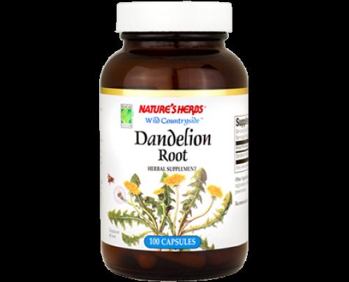 Nature's Herbs Dandelion Root 510mg 100 Capsules