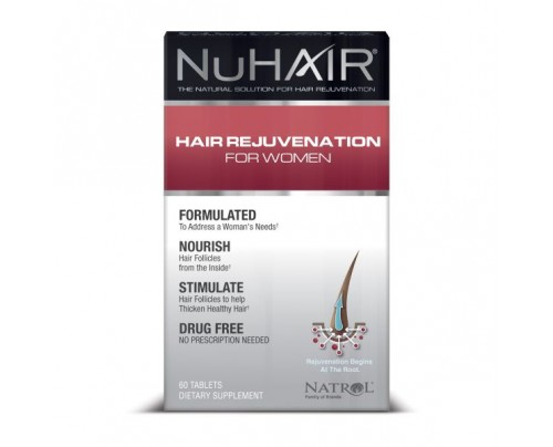 NuHair Regrowth for Womens 60 Tablets