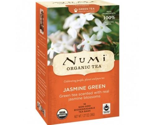 Numi Organic Tea Jasmine Green Tea 18 Tea Bags