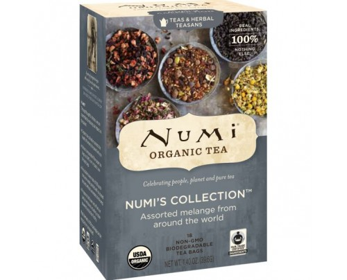 Numi Organic Tea Numi's Collection Assorted Melange Tea 18 Tea Bags