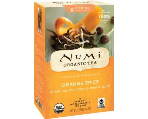 Numi Organic Tea Orange Spice Tea 16 Tea Bags