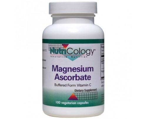 Nutricology Magnesium Ascorbate Buffered Form Vitamin C (Ester-C Magnesium) 100 Vegetarian Capsules