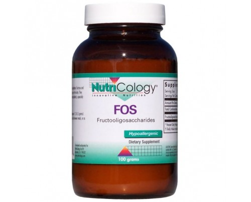 Nutricology FOS Fructooligosaccharides Powder 3.53 oz.