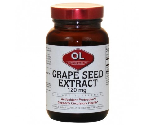 Olympian Labs Grape Seed Extract 120 mg 100 Capsules