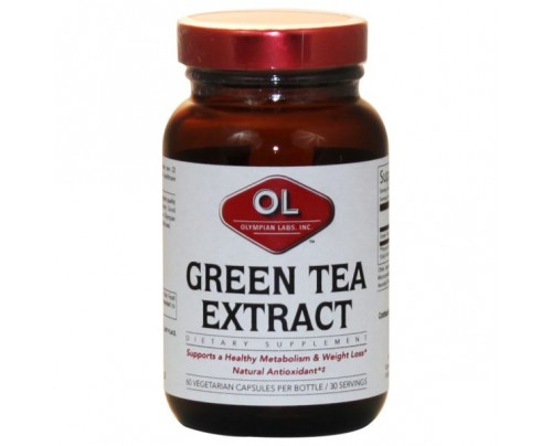 Olympian Labs Green Tea Extract 500mg 60 Capsules