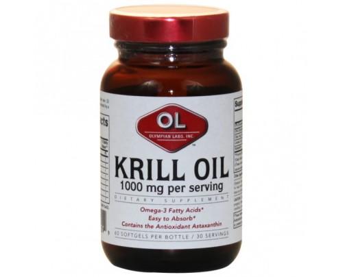 Olympian Labs Krill Oil 1,000mg 60 Softgels