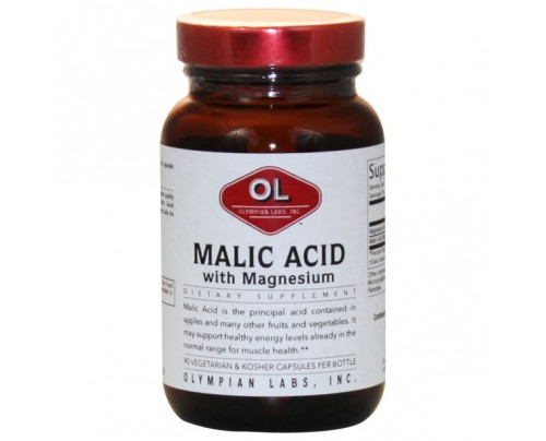 Olympian Labs Malic Acid with Magnesium 500mg 90 Capsules