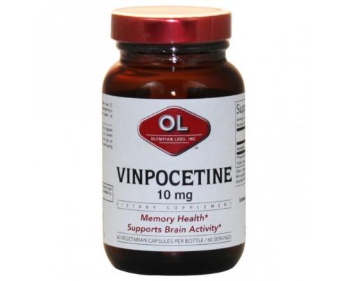 Olympian Labs Vinpocetine 10 mg 60 Capsules