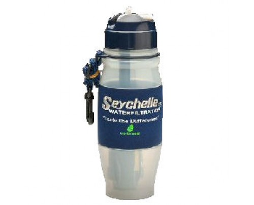 Seychelle Environmental Technologies Fliptop Portable Water Filter Bottle 28oz.