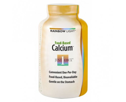 Rainbow Light Food Based Calcium 500mg 90 Tablets