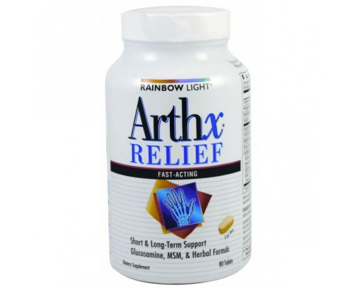 Rainbow Light Arthx Relief 80 Tablets