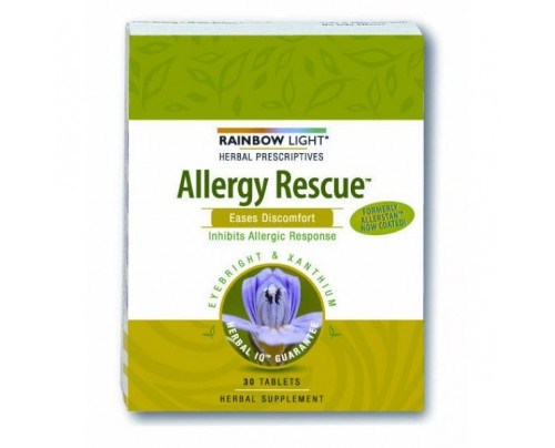 Rainbow Light Allergy Rescue Allergy Relief 30 Tablets