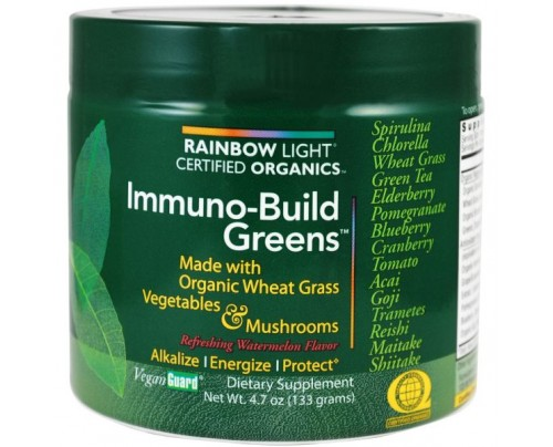 Rainbow Light Immuno-Build Greens Certified Organics 4.7oz.