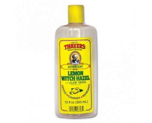 Thayers Witch Hazel with Aloe Vera Lemon 12oz.