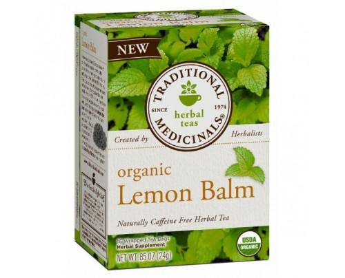 Traditional Medicinals Organic Lemon Balm Tea 16 Teabags